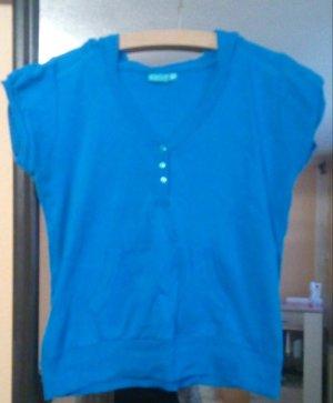X-Mail Camicia con cappuccio blu fiordaliso-turchese