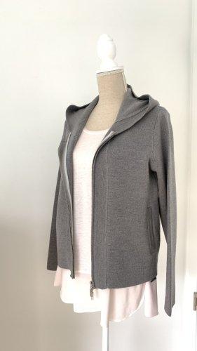 Conemara Veste à capuche gris foncé laine
