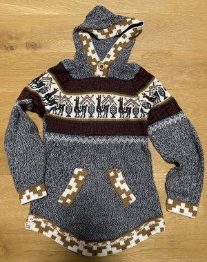 Kapuzen-Wollpullover
