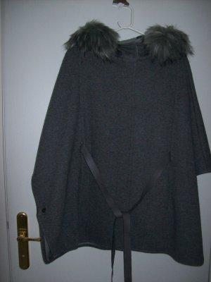 Yessica Abrigo de lana gris Lana