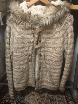 Bershka Fleece Jackets multicolored