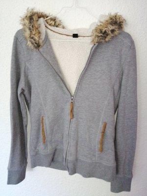 Pimkie Veste à capuche gris clair
