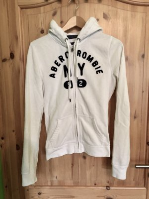 Abercrombie & Fitch Hoody white-dark blue