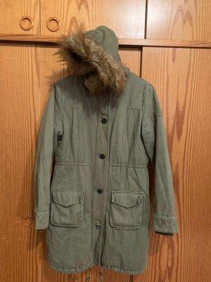Abercrombie & Fitch Veste à capuche gris vert