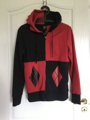 Batman Hoody black-red cotton
