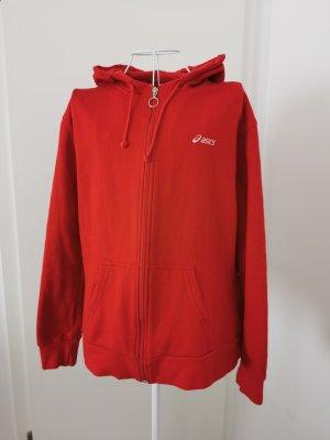 Kapuzenjacke Strickjacke hoodie rot