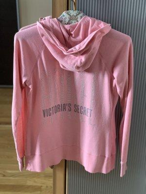Victoria's Secret Chaqueta de tela de sudadera rosa-rosa