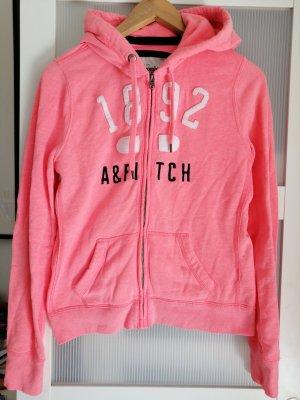Abercrombie & Fitch Jack met capuchon roze-neonroos