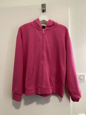 Juicy Couture Hooded Sweater raspberry-red-black