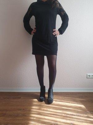 SheIn Sukienka z kapturem czarny