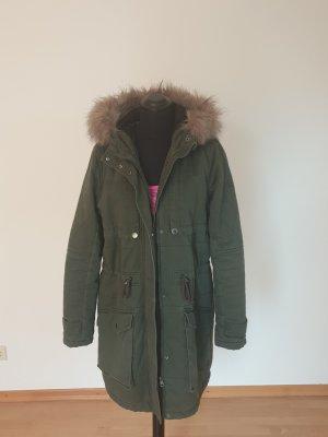 Tom Tailor Denim Hooded Coat khaki