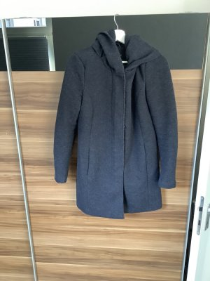 Only Hooded Coat blue-neon blue