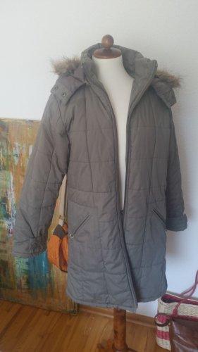 Express Cappotto con cappuccio cachi