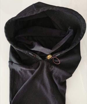 Buff Hooded Scarf black