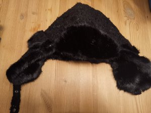 Barts Knitted Hat black wool
