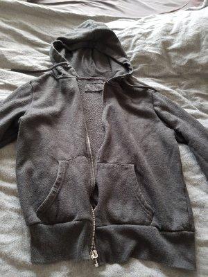 Blusa con capucha gris