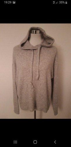 H&M L.O.G.G. Jersey con capucha gris claro