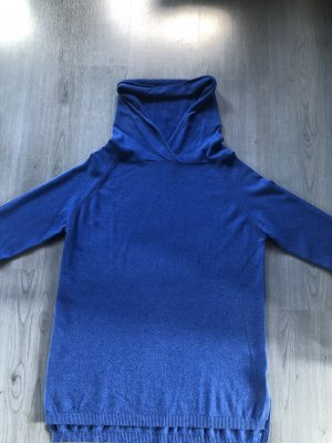 diff Sweter z kapturem niebieski