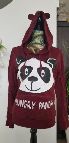 Kapuzenpulli mit Panda und Ohren Gr. L