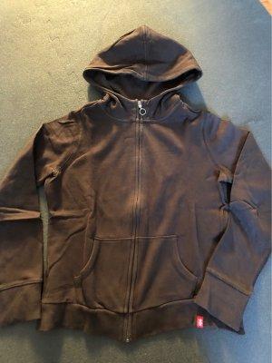 edc by Esprit Jersey con capucha marrón oscuro