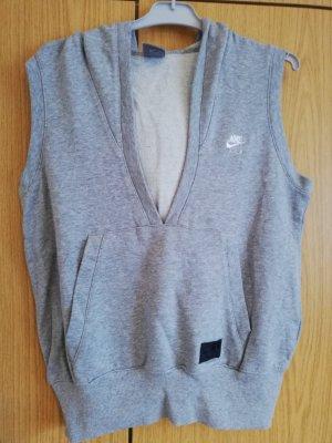 Nike Camicia con cappuccio grigio