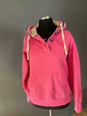 Chiemsee Maglione con cappuccio rosa Cotone