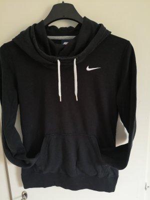Nike Capuchon sweater wit-zwart