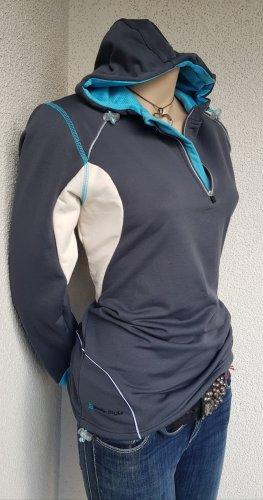 TCM Camicia con cappuccio grigio-bianco sporco
