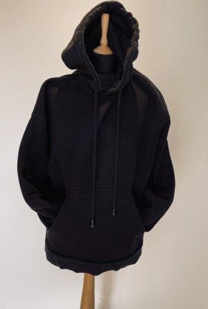 Zara Sweatshirt met capuchon zwart