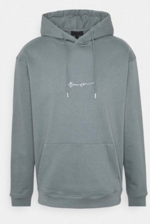 mennace Hooded Sweater green grey