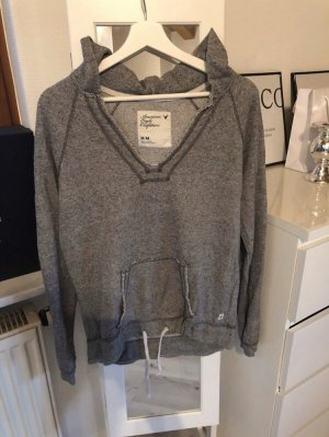 American Eagle Outfitters Capuchon sweater grijs