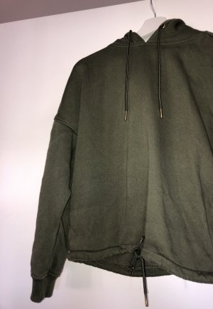 Urban Classics Hooded Sweater olive green-khaki