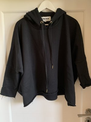5 Preview Hooded Sweater black
