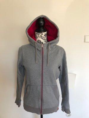 Mini Hooded Sweater grey-pink