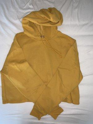 H&M Pull à capuche orange doré