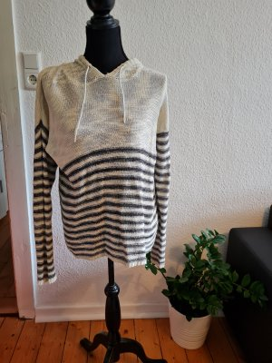 Ann Christine Hooded Sweater white