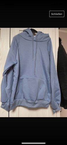 Jersey con capucha azul aciano