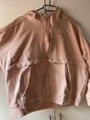 Champion Maglione con cappuccio rosa pallido-rosa antico