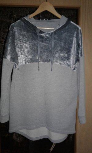 Aniston Pull à capuche argenté-gris clair