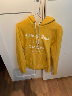 H&M Hooded Sweater yellow-light orange