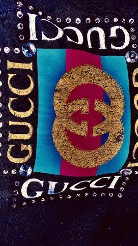 Gucci Pull à capuche noir coton