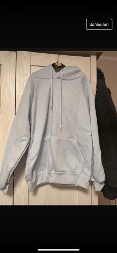 Jersey con capucha azul celeste
