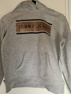 Tommy Jeans Hooded Sweater light grey
