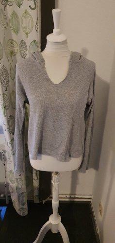 Brandy & Melville Hooded Sweater light grey