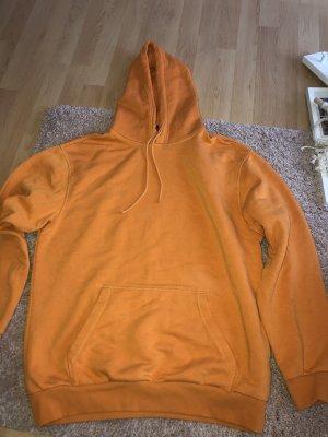 Kapuzenpullover in Orange