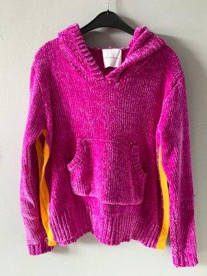 delicatelove Hooded Sweater orange-violet