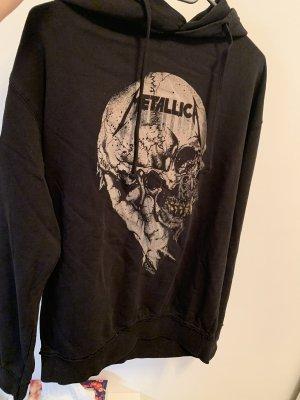 H&M Divided Capuchon sweater zwart