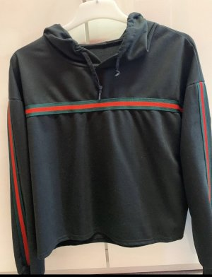Hooded Sweater multicolored mixture fibre