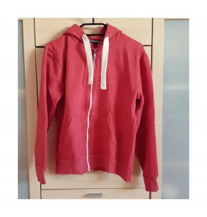 Hooded Sweater brick red-red