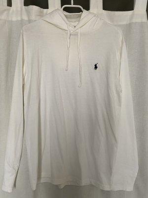 Polo Ralph Lauren Hooded Sweater white